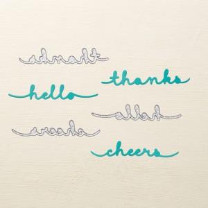 Greetings Thinlits