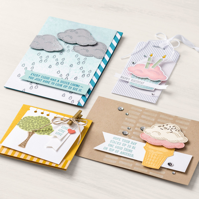 Sprinkles of Life examples from stampin up