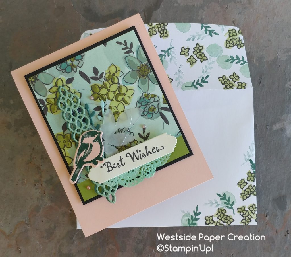 Best Wishes Card and Envelope