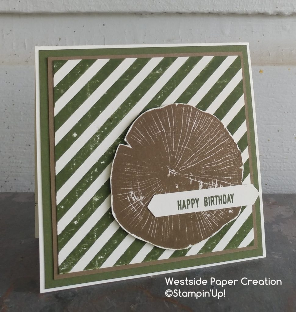 Rooted In Nature stamp set is perfect for masculine cards
