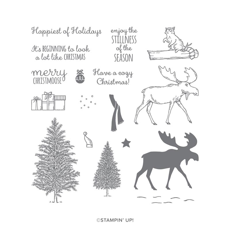 Merry Moose Stamp Set